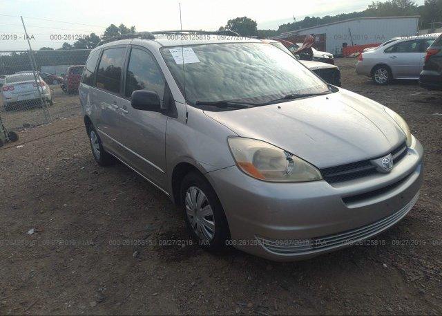 Inventory #768012253 2005 Toyota SIENNA