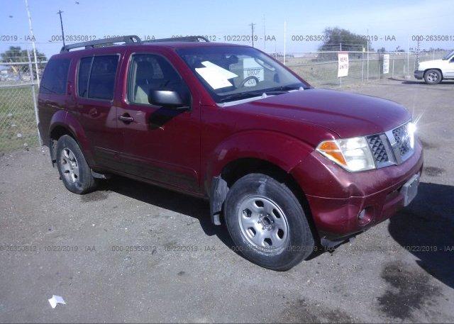 Inventory #689345357 2006 Nissan PATHFINDER