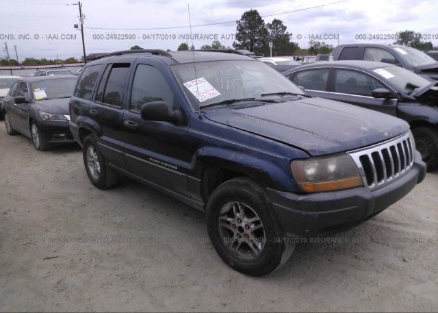 Inventory #825165455 2002 JEEP GRAND CHEROKEE