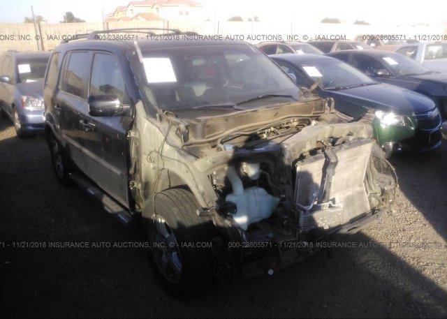 Inventory #834209984 2011 HONDA PILOT