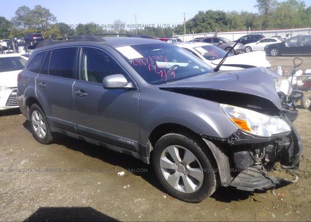 Inventory #638554117 2010 Subaru OUTBACK
