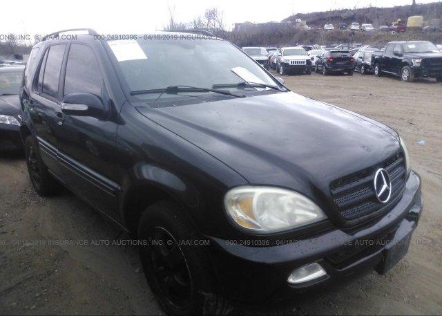 Inventory #842600735 2003 Mercedes-benz ML