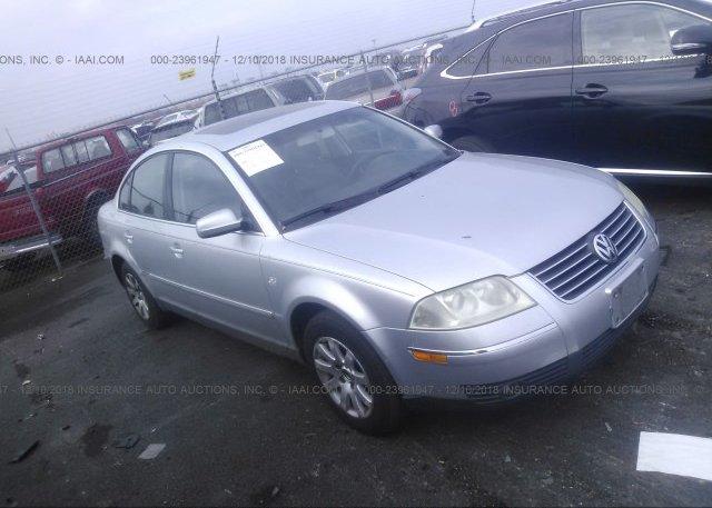 Inventory #196249642 2003 Volkswagen PASSAT