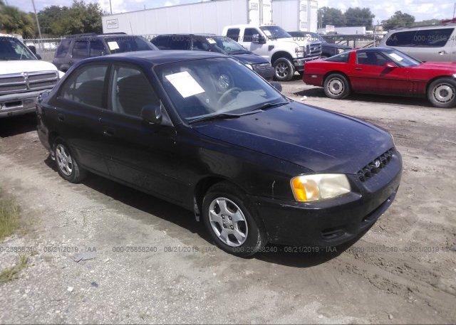 Inventory #925652353 2000 Hyundai ACCENT