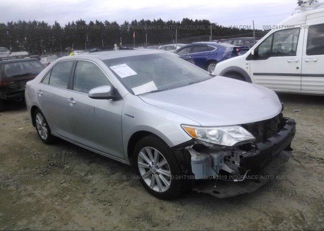 Inventory #185331998 2012 Toyota CAMRY