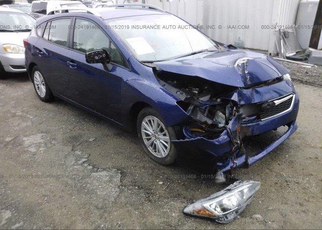 Inventory #595981585 2018 Subaru IMPREZA
