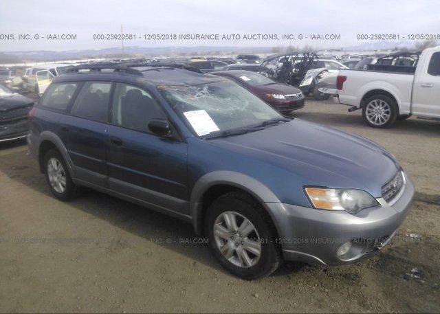 Inventory #778469874 2005 Subaru LEGACY