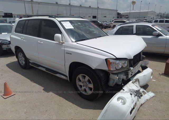 Inventory #373807343 2001 Toyota HIGHLANDER