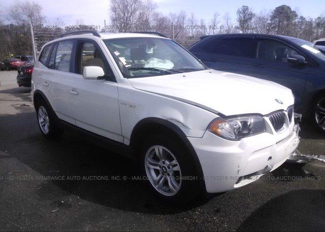 Inventory #411132279 2006 BMW X3