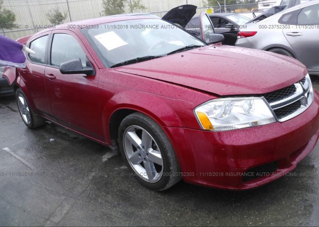 1c3cdzab9dn563809 Rebuildable Red Dodge Avenger At Fort Pierce Fl