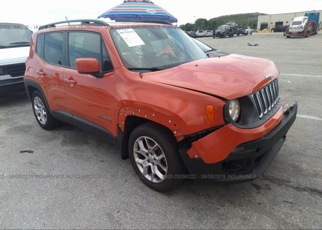 Inventory #847804124 2015 JEEP RENEGADE