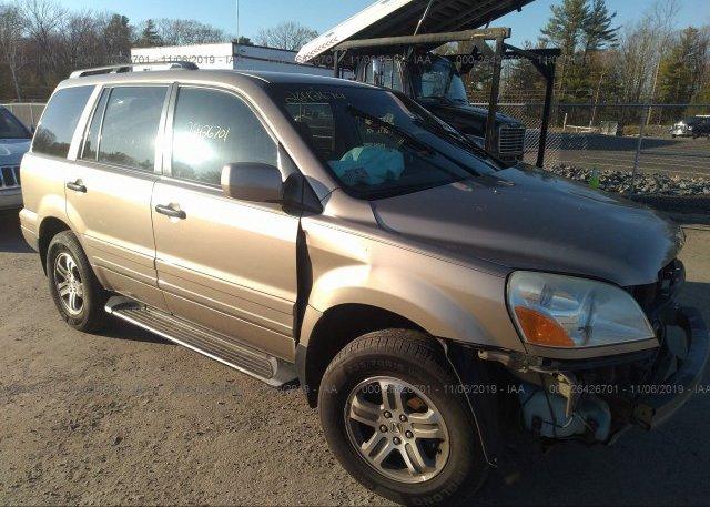 Inventory #439007316 2004 Honda PILOT