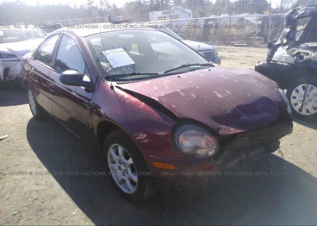 Inventory #733376617 2005 Dodge NEON