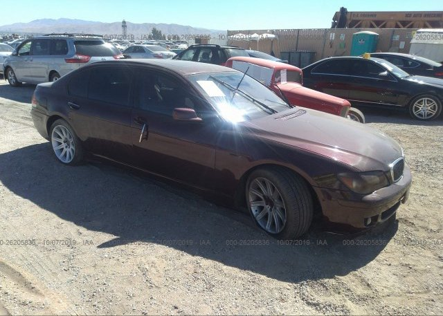 Inventory #559117745 2006 BMW 750