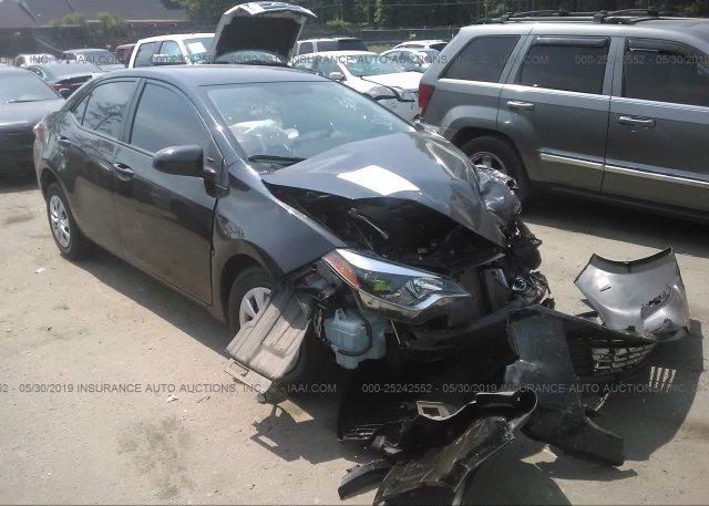 Inventory #208117299 2016 Toyota COROLLA