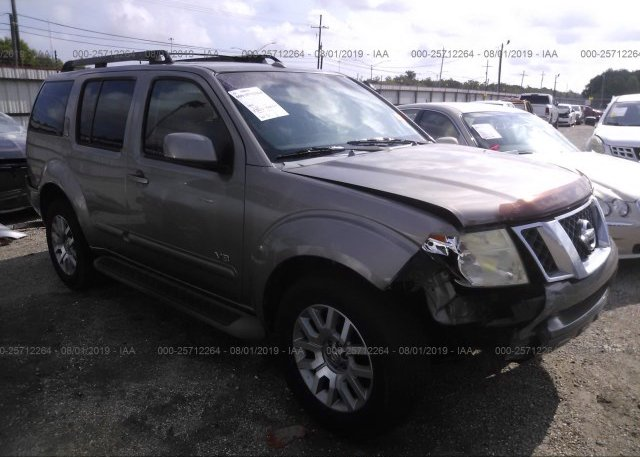 Inventory #849707092 2008 Nissan PATHFINDER