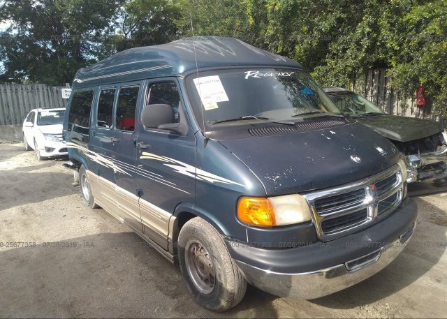 Inventory #235805008 2002 Dodge RAM VAN