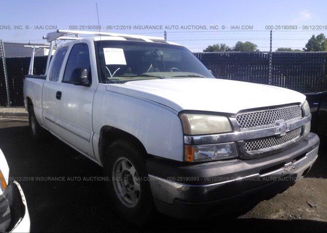 Inventory #899852418 2003 Chevrolet SILVERADO