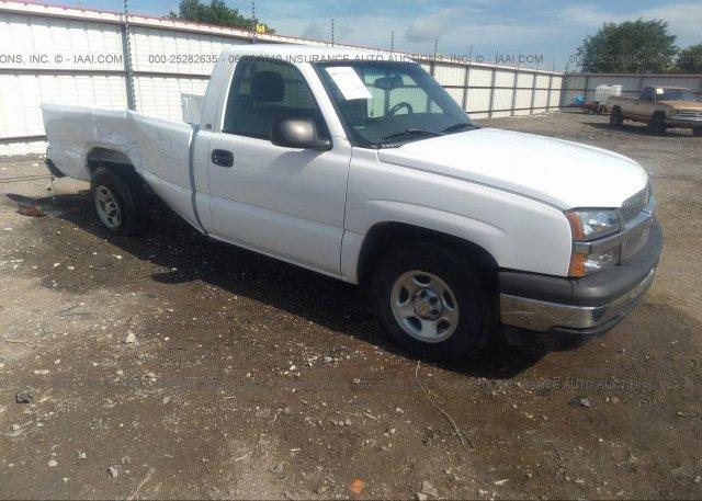 Inventory #425715626 2003 Chevrolet SILVERADO