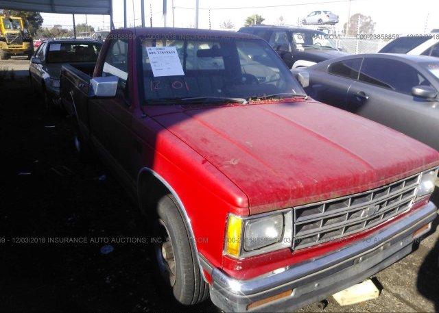 Inventory #930333546 1989 CHEVROLET S TRUCK