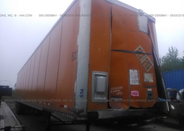 Inventory #172186215 2003 WABASH NATIONAL CORP VAN