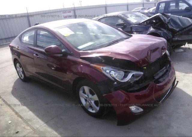 Inventory #576114339 2012 HYUNDAI ELANTRA