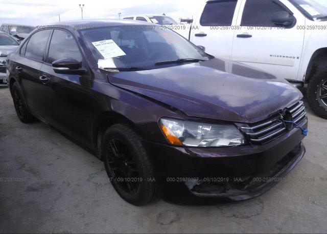 Inventory #622284074 2012 Volkswagen PASSAT