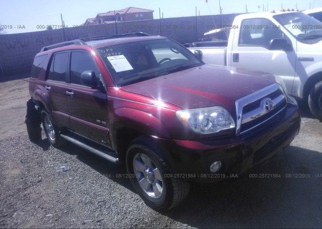 Inventory #809428540 2006 Toyota 4RUNNER