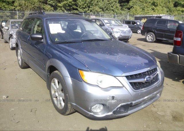 Inventory #964337843 2008 Subaru OUTBACK
