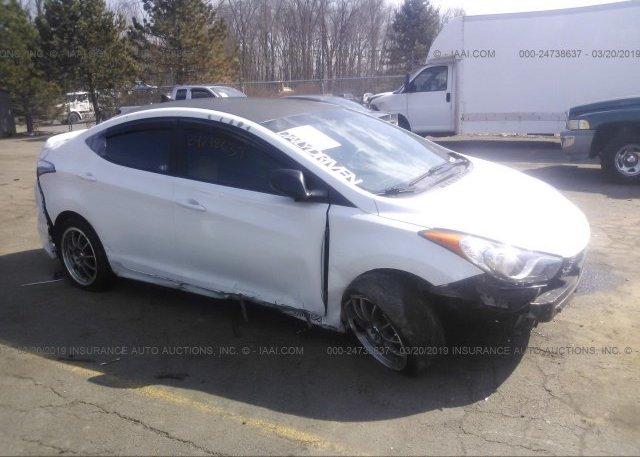 Inventory #900813661 2012 Hyundai ELANTRA