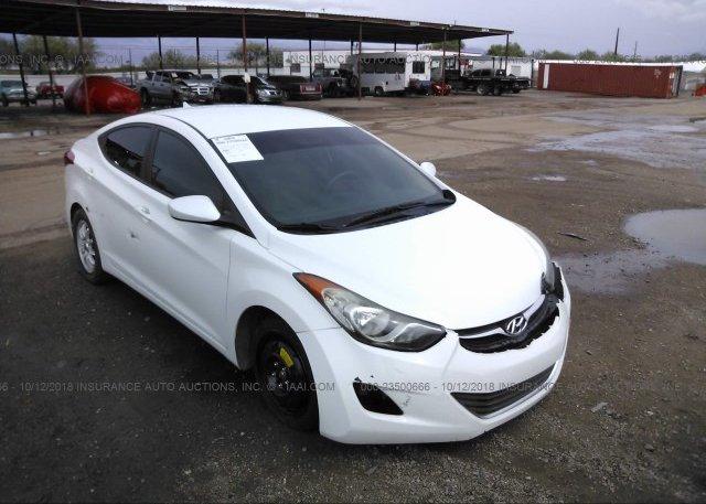 Inventory #922179894 2013 Hyundai ELANTRA