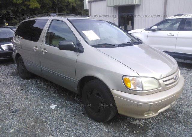 Inventory #837055155 2001 Toyota SIENNA