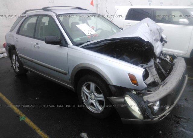 Inventory #889354453 2002 Subaru IMPREZA