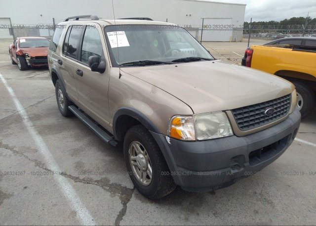 Inventory #262081101 2003 FORD EXPLORER