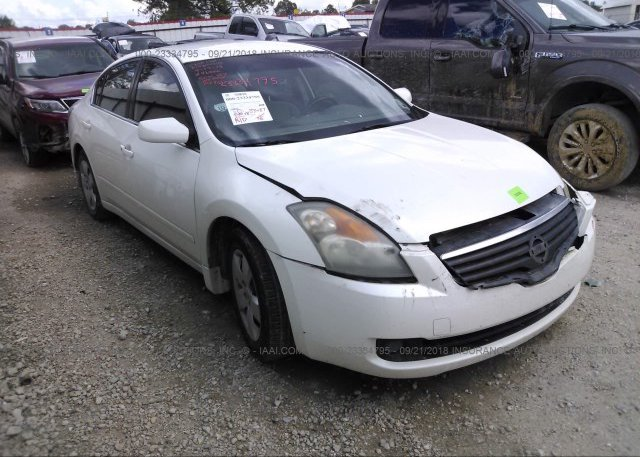 1n4al21e78n500887 Salvage White Nissan Altima At Lafayette La On
