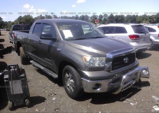 Inventory #232679220 2007 Toyota TUNDRA