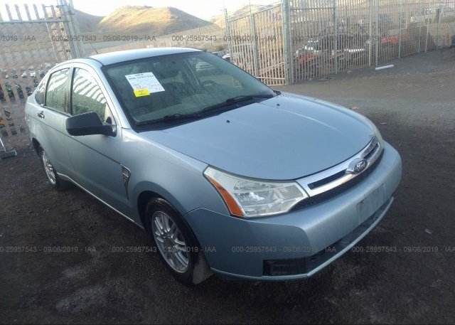 Inventory #485381109 2008 FORD FOCUS