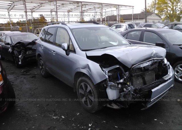 Inventory #850372100 2017 Subaru FORESTER