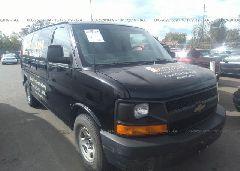 2007 Chevrolet EXPRESS G1500 - 1GCFH15T571130436 Left View