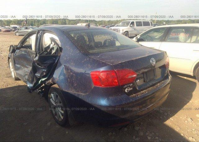 купить 2012 Volkswagen JETTA SEDAN 3VWDP7AJ9CM374571