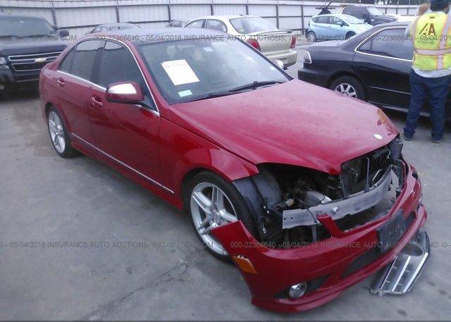 Inventory #271706701 2008 Mercedes-benz C