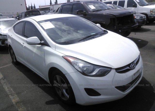 Inventory #608099337 2013 Hyundai ELANTRA