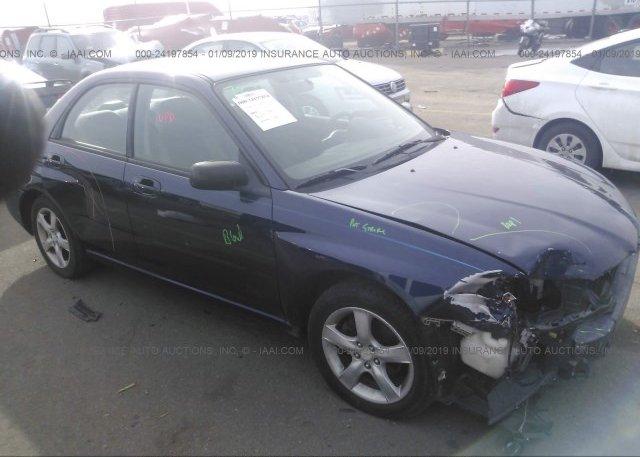 Inventory #623638326 2006 Subaru IMPREZA