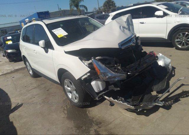 Inventory #135152039 2016 Subaru FORESTER