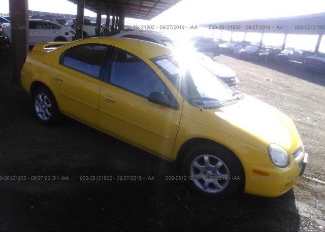 Inventory #609610370 2003 Dodge NEON