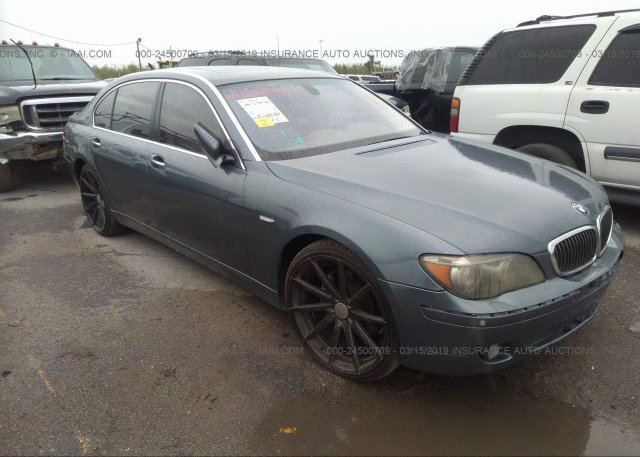 Inventory #425577176 2006 BMW 750