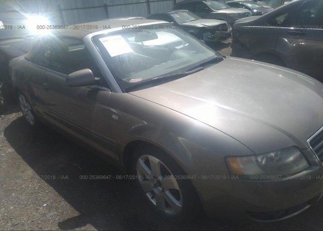 Inventory #283765293 2003 AUDI A4