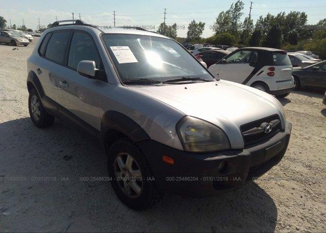 Inventory #998571285 2005 Hyundai TUCSON