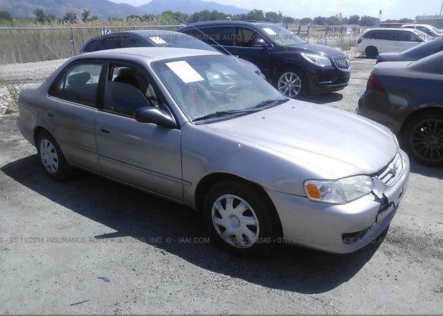 Inventory #537561732 2001 Toyota COROLLA