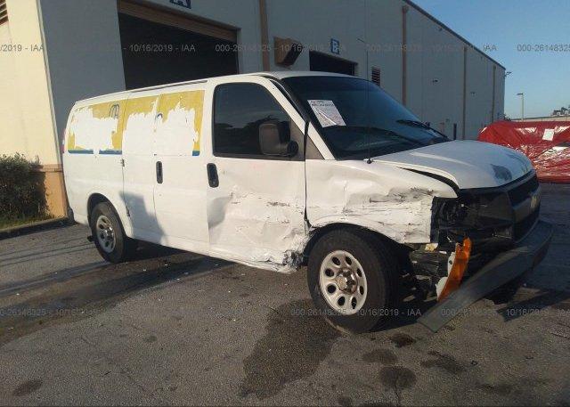 Inventory #596891342 2011 Chevrolet EXPRESS G1500